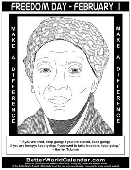 harriet tubman coloring pages for kids