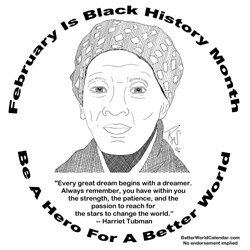 Harriet Tuman Colouring Pages Harriet Tubman Coloring Page
