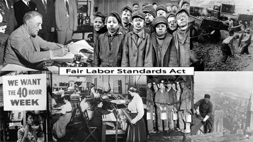 fair labor standards act of 1938 Signed into law by franklin d roosevelt june 25, 1938 signed into law by president franklin d roosevelt as part of his new deal legislation in 1938, the fair labor.