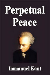 Immanuel kant 1795 essay perpetual peace a philosophical sketch