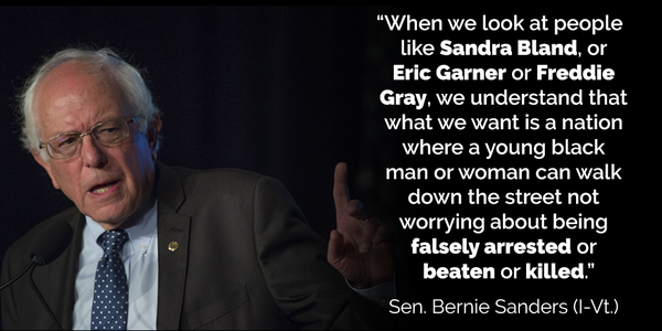 Black Lives Matter Quotes Impressive Better World Quotes Bernie Sanders On BlackLivesMatter