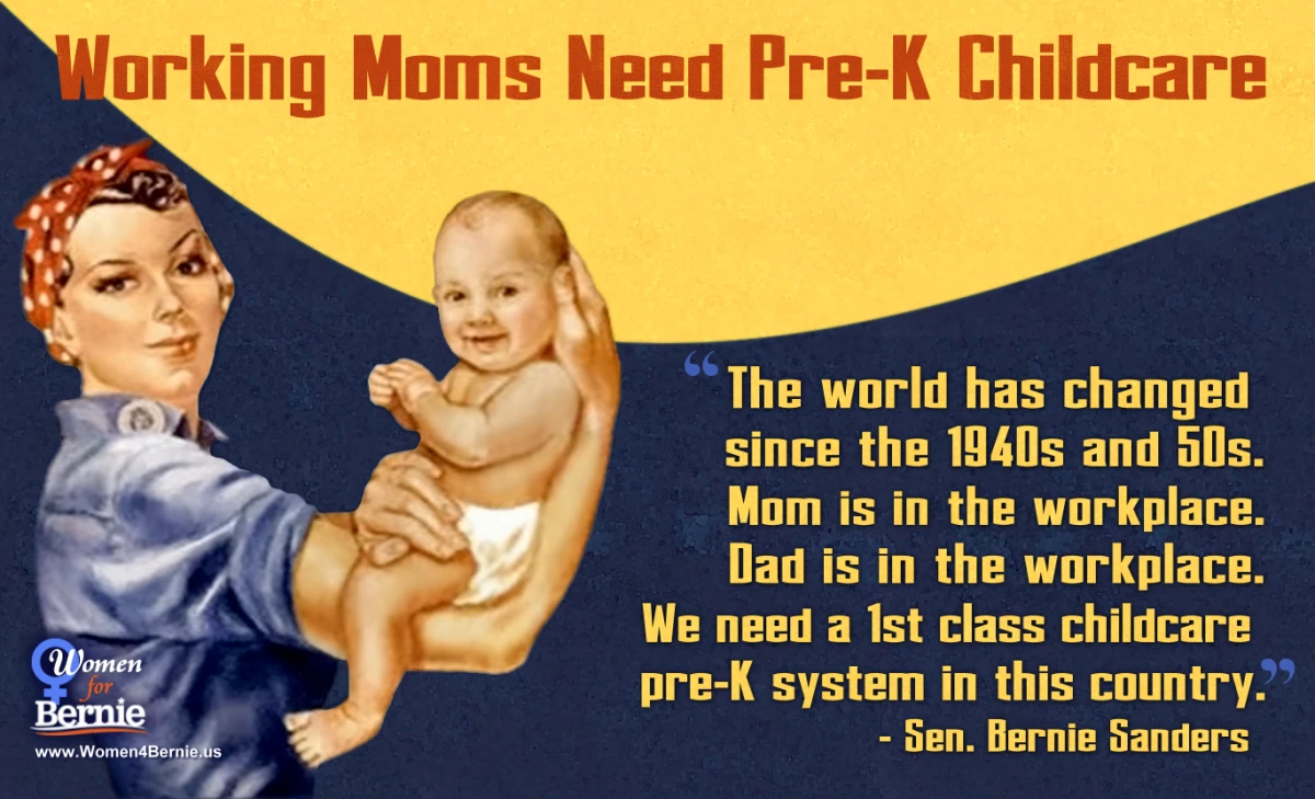 Childcare Quotes Alluring Better World Quotes  Bernie Sanders On Universal Childcare