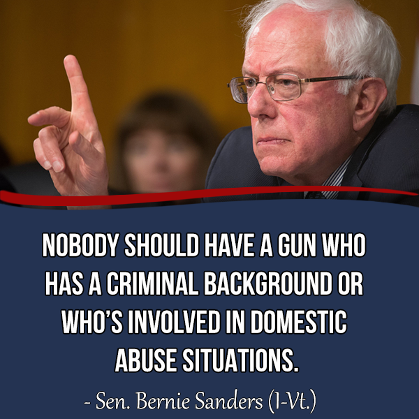 Quotes On Gun Control Awesome Better World Quotes  Bernie Sanders On Gun Control