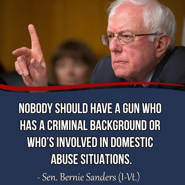 Better World Quotes Bernie Sanders On Gun Control Classy Gun Control Quotes