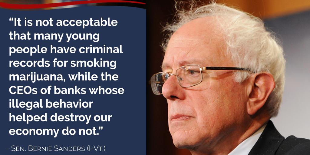 Better World Quotes Bernie Sanders On Banks