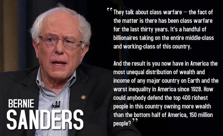 Bernie Sanders Quotes Best Better World Quotes  Bernie Sanders On Economic Inequality