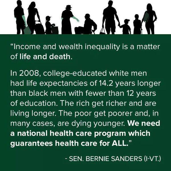 Health Insurance Quotes Va: Bernie Sanders On Healthcare