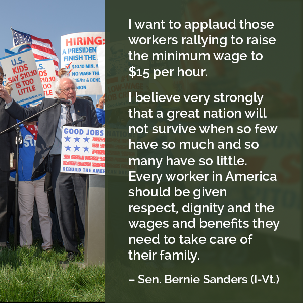 the need for raise on our minimum wage Free essay: a bill increasing the current minimum wage is greatly needed, and our government officials should demand a raise due to the increase in the cost.