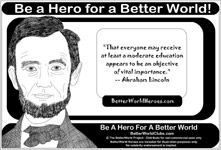 Better World Quotes - Literacy & Education