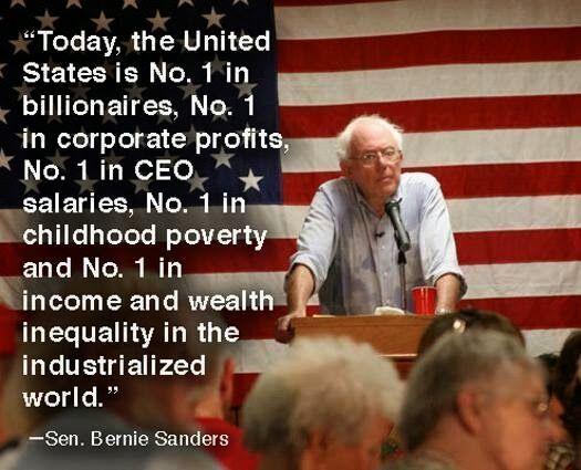 Bernie Sanders On Economic Inequality