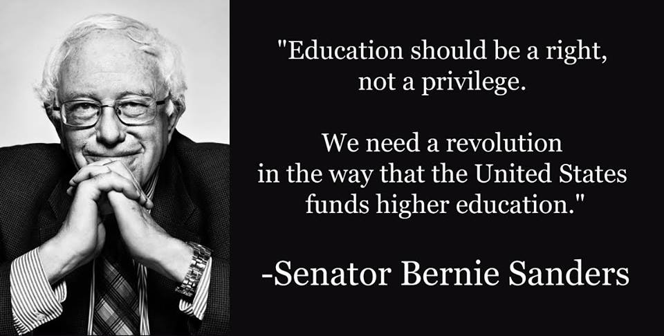 an analysis of bernie sanders college for all act Presidential candidate sen bernie sanders (vt) has tapped that sentiment with his proposal to use federal funds to make public college education free for in-state students.